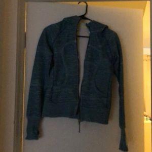 Teal Lulu jacket with good